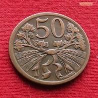Czechoslovakia 50 Haleru 1947 KM# 21  Tchecoslovaquie Checoslovaquia Cecoslovacchia TCHÈQUE ET SLOVAQUE - Tchécoslovaquie