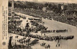PARIS LES FETES DE LA VICTOIRE JUILLET 1919 PLACE DE LA CONCORDE - Guerre 1914-18