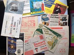 Carte Postale Publicitaire Reclame Lot De 10 Cartes - Cartes