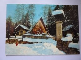 "Cartolina Viaggiata  ""COURMAYEUR Scorcio Panoramico""  1973 - Italia"