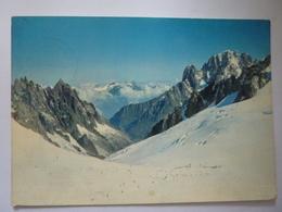 "Cartolina Viaggiata  ""COURMAYEUR Sci Estivo""  1970 - Italia"