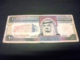 ARABIE SAOUDITE 10 Riyals 1983, Pick N° 23 B, SAUDI ARABIA - Saoedi-Arabië