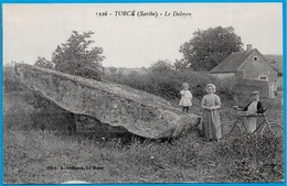 CPA 72 TORCE Sarthe - Le DOLMEN ° Phot. A. Dolbeau - France