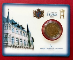 Luxembourg Coin Card    2 Euros 2005 - Luxembourg