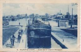 21 St-JEAN-de-LOSNE  Ecluse Sur Le Canal De Bourgogne - France