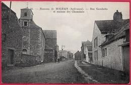 CPA 08 (VIREUX) Hameau De MOLHAIN Ardennes - Rue Gambetta Et Maison Des Chanoines - France