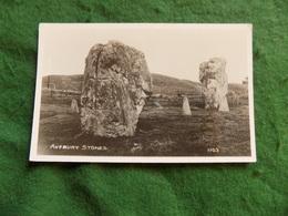 VINTAGE UK: WILTSHIRE Avebury Stones B&w Forest - Inghilterra