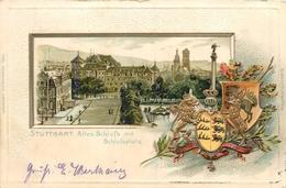 ALLEMAGNE - STUTTGART - Altes Schloss Mit Schlossplatz - Stuttgart