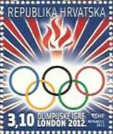 HR 2012-1048 OLYMPIC GAMES LONDON, HRVATSKA CROATIA, 1 X 1v, MNH - Eté 2012: Londres