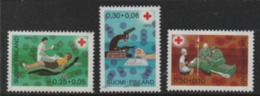 Finnland 1972 MiNr.: 707-709** Rotes Kreuz Postfrisch; Finland Red Cross MNH - Finland