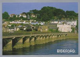 UK.- DEVON. BIDEFORD. The River Torridge And Bridge. - Engeland