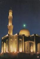 Dubai Mosque At Night - Dubai