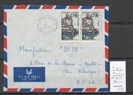 Reunion - Lettre Pour Saint Denis - Yvert 334 -1959 - Réunion (1852-1975)