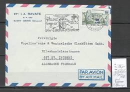 Reunion - Lettre Saint Denis Pour St Ingbert - Allemagne - 1968 - Réunion (1852-1975)