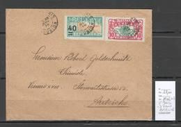 Reunion - Lettre Saint Denis Pour Vienne - Autriche - 1922 - Lettres & Documents