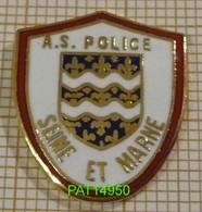 AS  POLICE   SEINE ET MARNE En Version EGF - Police