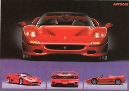 Ferrari F-50  -  1999   -  CPM - Voitures De Tourisme