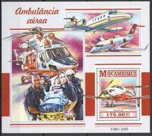 Mozambique 2015 Nobel  Red Cross Croix Rouge Ambulances Aériennes  MNH - Prix Nobel