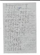 MEXIQUE MEXICO  Autographe Jules De Rafélis De St-Sauveur  (Lieutenant 1866 ) 3 è Zouaves  71 Lettres  270  P. 1864 /67 - Autographes