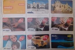 SYRIA - Group Of 10 Cards - Syriatel - Used - Siria