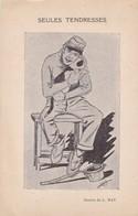CHAT ,,,,,,SEULES  TENDRESSES ,,,,,DESSIN  De  L..   NAT ,,,,   JOLIE  CARTE ,,,, - Autres Illustrateurs