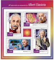 Saint Thomas 2015 Nobel Albert EINSTEIN  MNH - Prix Nobel