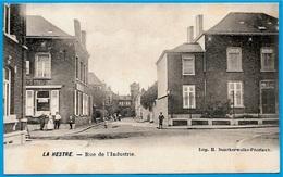 CPA LA HESTRE (Manage) Belgique - Rue De L' Industrie ° Imp. H. Donckerwolke-Pécriaux - Manage