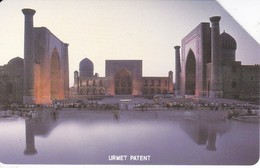 TARJETA URMET DE UZBEKISTAN DE 25 UNITS - Uzbekistan