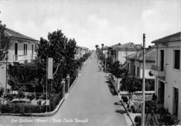 """07693 """"SAN GIULIANO (RN) VIALE CARLO ZAVAGLI"""" ANIMATA. CART. ORIG. SPED. '956 - Italia"""