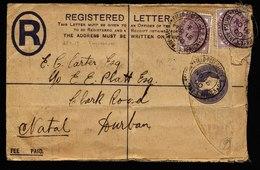 A5893) UK South Africa Natal R-Brief Fieldpost 11/15/1900 - Südafrika (...-1961)