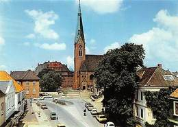Marne Holstein Auto Vintage Cars Kirche Church - Deutschland