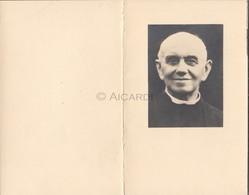 Doodsprentje Priester/Prêtre Jozef Maria Van Kerckhoven °1869 Hingene †1957 Sint-Amands Directeur HH Hoegaarden  (B94) - Décès