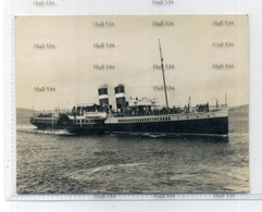NBR LNER PS Jeanie Deans Paddle Steamer C1920s Original Photo CSP Caledonian Steam Packet Clyde Macbrayne - Ferries