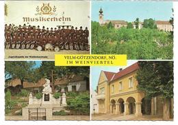 1651x: AK 2245 Velm- Götzendorf, Gelaufen - Gänserndorf