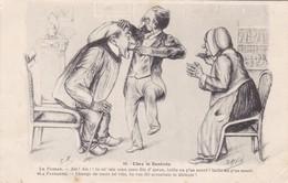 ILLUSTRATEUR  DAYNIE,,,,,CHEZ Le  DENTISTE,,,,, ECRITE 1912,,,,,,BE,,,, - Autres Illustrateurs