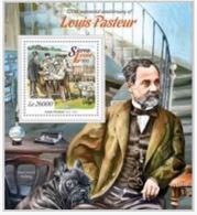 Sierra Leone 2015 Louis Pasteur Dog Chien  MNH - Louis Pasteur