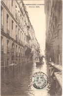 Dépt 44 - NANTES - Rue Kervégan - LES INONDATIONS À NANTES (Février 1904) - Nantes