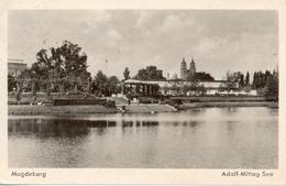 Allemagne - Saxe-Anhalt - Magdeburg - Adolf-Mittag See - Nº 12 - Ecrite, Timbrée - 6064 - Magdeburg