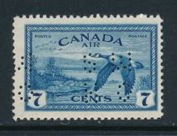 CANADA, 1946 7c Air Perfed OHMS Very Fine MM - 1937-1952 Règne De George VI