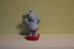 Kinder Hippos - 1992 - K93-185 : Hippo Baloon - Monoblocs