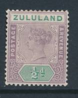 ZULULAND, 1894 ½d  Very Fine MM, Cat £7 - Zuid-Afrika (...-1961)
