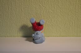 Kinder Hippos - 1992 - K93-190 : Hippo Acrobate - MonoBlocks