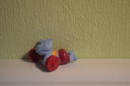 Kinder Hippos - 1992 - K93-189 : Hippo Siesta - Monoblocs