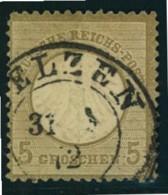 1872: Michel-Nr. 5, 5 Groschen Kleiner Brustschild (120,-) - Gebraucht