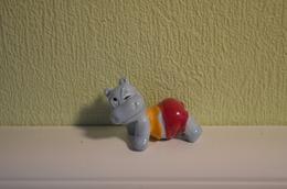 Kinder Hippos - 1992 - K93-184 : Hippo Relax - MonoBlocks