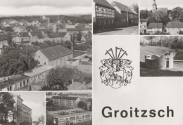 Allemagne - Groitzsch - Stadtansicht - Oberschule - Leipzig