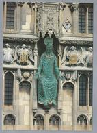 UK.- KENT. CANTERBURY CATHEDRAL. Statue Of Chtist Church Gateway, Sculpted By Claus Ringwald. - Canterbury