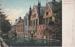 CPA - AK Brugge Brügge Bruges Château Du Franck Canal Au Sucre Suikerkanaal ? Pont Brücke Westflandern Belgique Belgien - Brugge