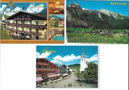 1651o: 3 AKs 5441 Abtenau, Ungelaufen - Abtenau