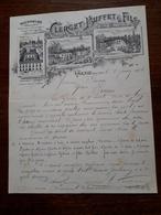 L15/37 Lettte Ancienne. Volnay. Clerget - Buffet Et Fils. 1906 - France
